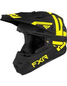 FXR Legion Youth Helmet Black/Hi-Vis