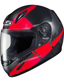 HJC CL-Y Boost Youth Snowmobile Helmet Red