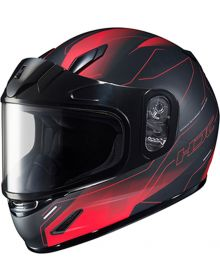 HJC CL-Y Youth Snowmobile Helmet Taze Black/Red