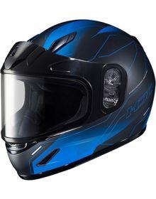 HJC CL-Y Youth Snowmobile Helmet Taze Black/Blue