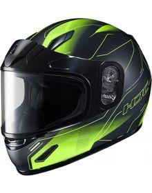 HJC CL-Y Youth Snowmobile Helmet Taze Black/Hi Vis