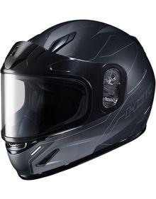 HJC CL-Y Youth Snowmobile Helmet Taze Black