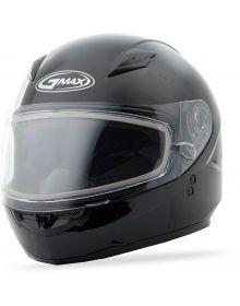 Gmax GM49Y Youth Snow Helmet Solid Black