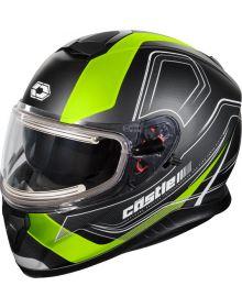 Castle X Thunder 3 SV Electric Snow Helmet Trace Matte Hi-Vis