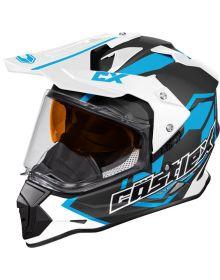 Castle X Mode Dual-Sport SV Snow Helmet Team Process Blue