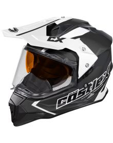 Castle X Mode Dual-Sport SV Snow Helmet Team Black