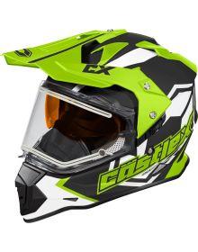 Castle X Mode Dual-Sport SV Electric Snow Helmet Team Hi-Vis