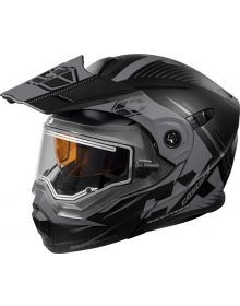 Castle X CX950 Focus Electric Snow Helmet Matte Black/Gray