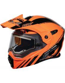 Castle X CX950 Electric Snow Helmet Task Orange/Black