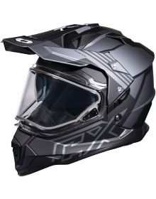 Castle X CX Mode Dual Sport Snow Helmet Agent Charcoal