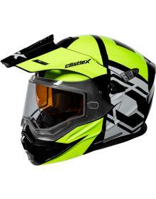 Castle X CX950 Snowmobile Helmet Hex Hi-Vis/Black