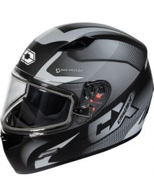 Castle X Mugello Snowmobile Helmet Squad Matte Grey