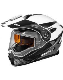 Castle X CX950 Diverge Snowmobile Helmet Matte White/Black