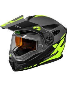 Castle X CX950 Diverge Snowmobile Helmet Matte Hi-Vis/Gray