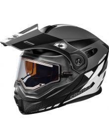 Castle X CX950 Diverge Electric Snowmobile Helmet Matte Charcoal/Black