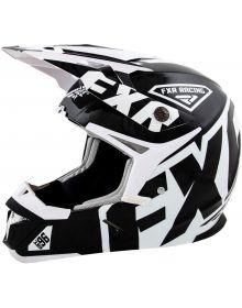FXR 2015 X1 Youth Helmet Black/White