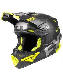 FXR Blade 2.0 Carbon Evo Helmet Black/Hi Vis