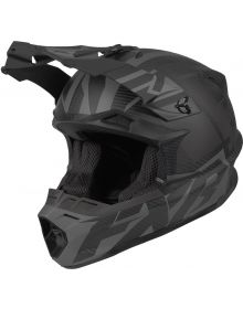 FXR Blade 2.0 Carbon Race Divide Helmet Black Ops