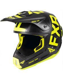 FXR Torque Evo Helmet Black/Hi Vis/Char
