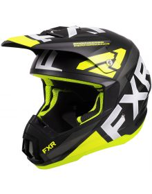 FXR Torque Team Helmet Hi Vis
