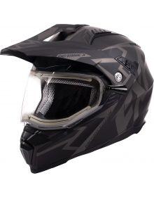 FXR Octane X Deviant Helmet w/Dual Shield Black Ops