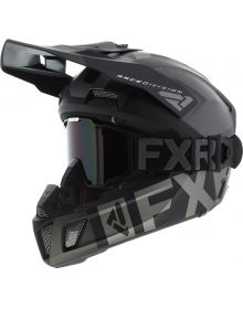 FXR Clutch Cold Stop QRS Helmet Black Ops