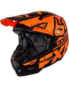 FXR 6D ATR-2 Race Division Helmet Orange