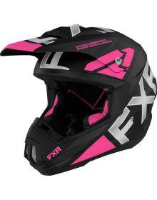 FXR Torque Team Helmet Elec. Pink
