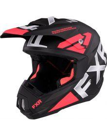 FXR Torque Team Helmet Coral