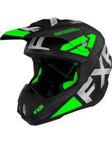 FXR Torque Team Helmet Lime