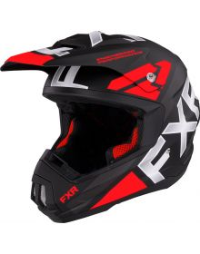 FXR Torque Team Helmet Red