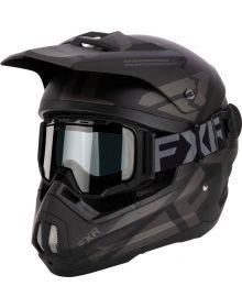 FXR Torque Cold Stop QRS Helmet W/Maverick Goggles Black Ops