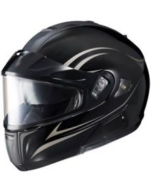 HJC IS-Max BT Modular Snow Helmet Raptor Matte Black