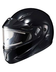 HJC CL-Max II Modular Electric Snowmobile Helmet Gloss Black