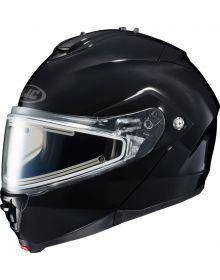 HJC IS-Max 2 Modular Electric Snowmobile Helmet Black
