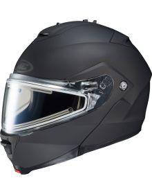 HJC IS-Max 2 Modular Electric Snowmobile Helmet Matte Black