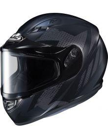 HJC CS-R3 Snowmobile Helmet Treague Black