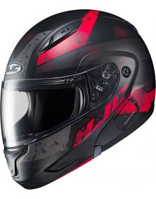 HJC CL-Max2 Friction Snowmobile Helmet Red