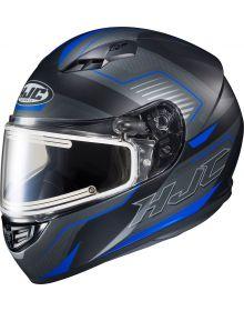 HJC CS-R3 Trion Electric Snowmobile Helmet Trion Blue MC2SF