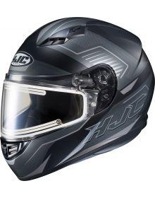 HJC CS-R3 Trion Electric Snowmobile Helmet Black MC5SF