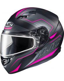 HJC CS-R3 Trion Snowmobile Helmet Pink MC8SF