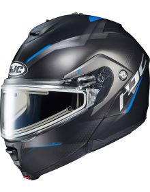 HJC IS-MAX2 Dova Electric Snowmobile Helmet Blue MC2SF
