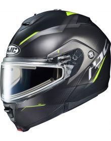 HJC IS-MAX2 Dova Electric Snowmobile Helmet Hi-Viz MC3HSF
