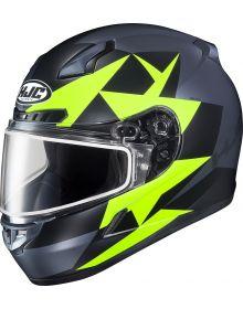 HJC CL-17 Ragua Snowmobile Helmet Hi-Viz MC3HSF
