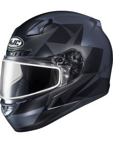 HJC CL-17 Ragua Snowmobile Helmet Black MC5SF