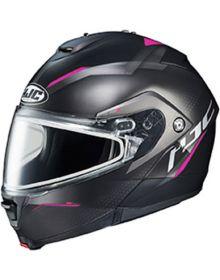 HJC IS-MAX2 Dova Snowmobile Helmet Pink MC8SF