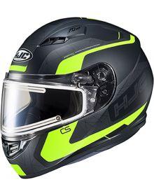 HJC CS-R3 Electric Snowmobile Helmet Dosta Black/Hi Vis