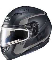 HJC CS-R3 Electric Snowmobile Helmet Dosta Gray/Black