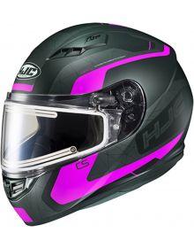 HJC CS-R3 Electric Snowmobile Helmet Dosta Black/Pink