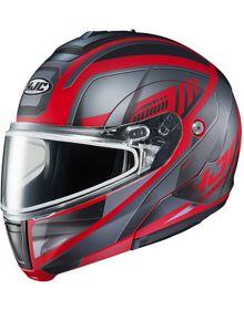 HJC CL-MAX3 Snowmobile Helmet Gallant Black/Red